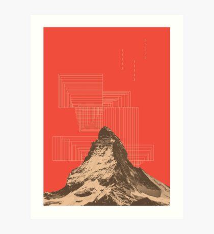 山 (v#2) Art Print