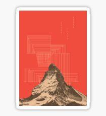 山 (v#2) Sticker