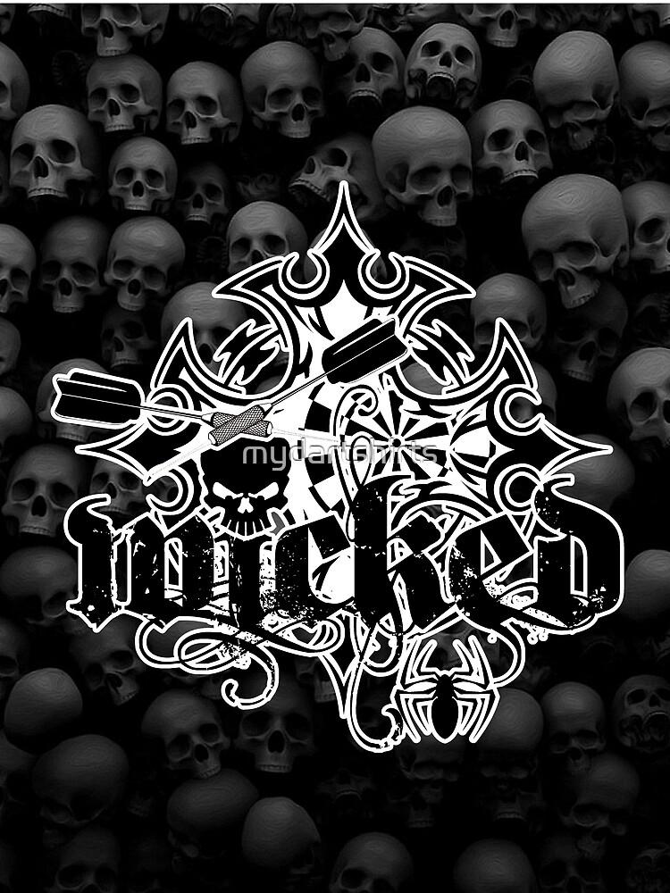 Wicked Darts Shirt by mydartshirts