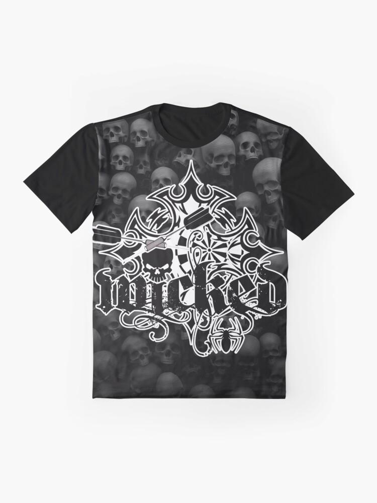 Alternate view of Wicked Darts Shirt Graphic T-Shirt