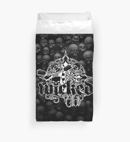 Wicked Darts Shirt Duvet Cover