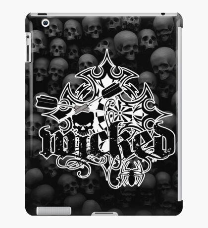 Wicked Darts Shirt iPad Case/Skin