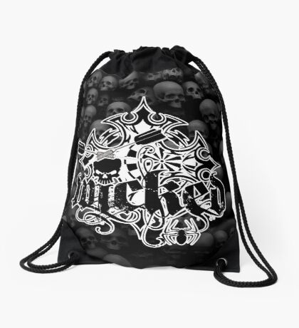 Wicked Darts Shirt Drawstring Bag