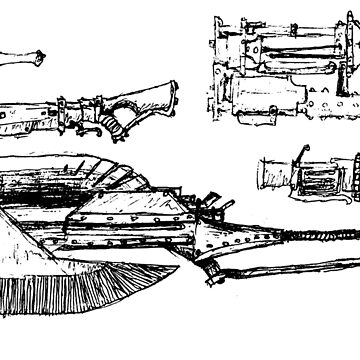 Switch Axe and Bowguns by Gaius