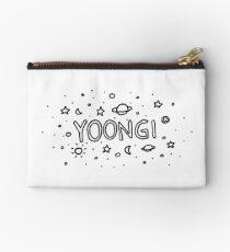 yoongi bts galaxy line art  Studio Pouch