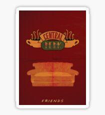 Friends_Central Perk Sticker
