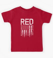 Remember Everyone Deployed-Military R.E.D. Kids Tee