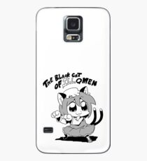 the black cat Case/Skin for Samsung Galaxy