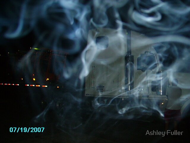 Smoky Truck by Ashley Fuller