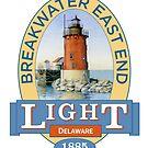 Breakwater East End Lighthouse by James & Laura Kranefeld