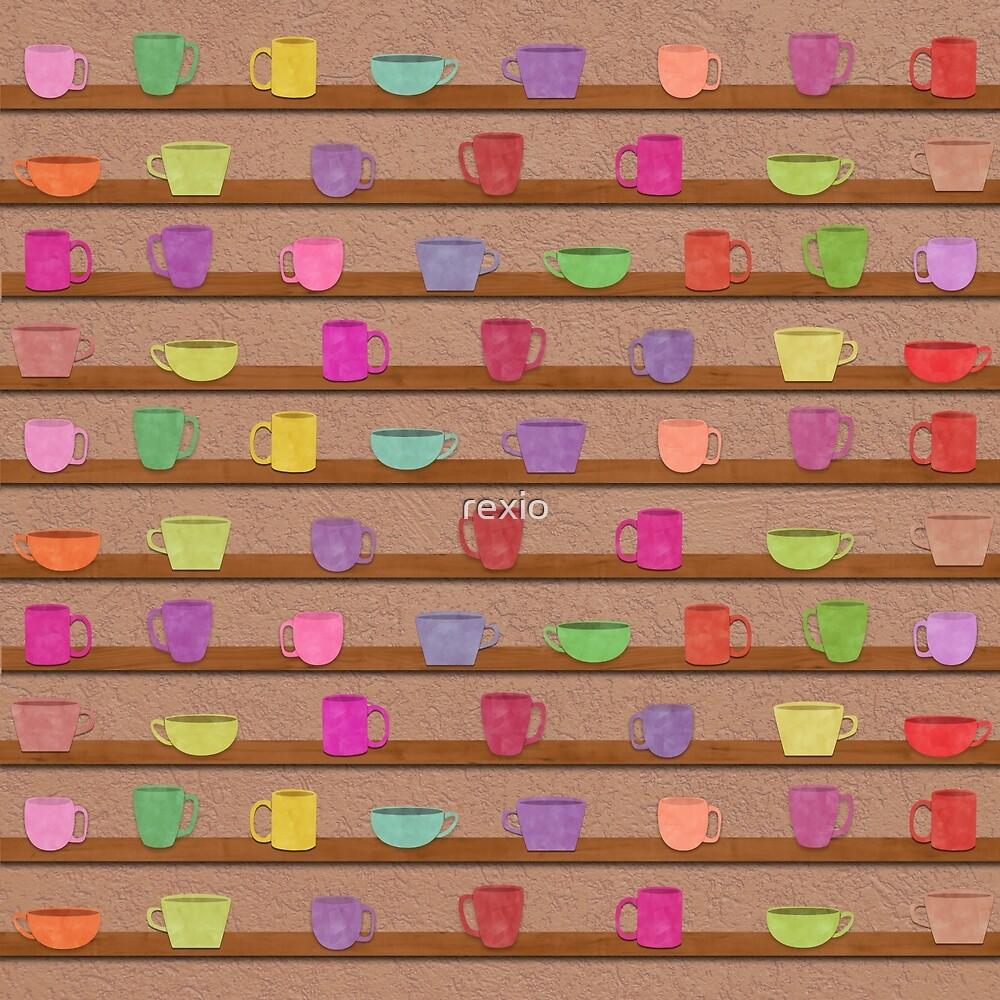 Mug Shelf by rexio