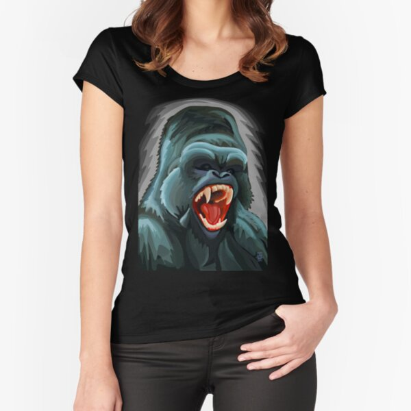 Silverback Fitted Scoop T-Shirt