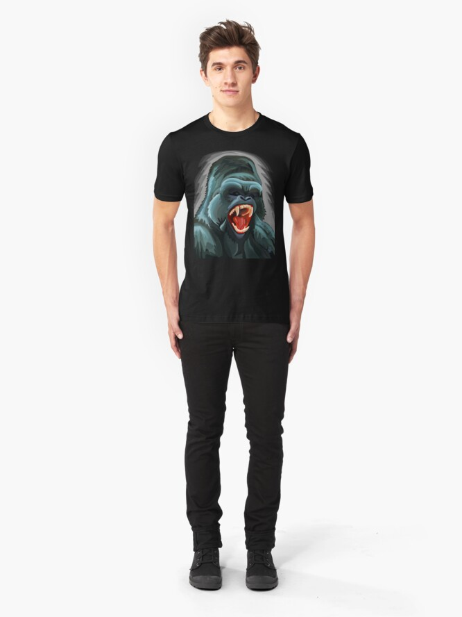 Alternate view of Silverback Slim Fit T-Shirt