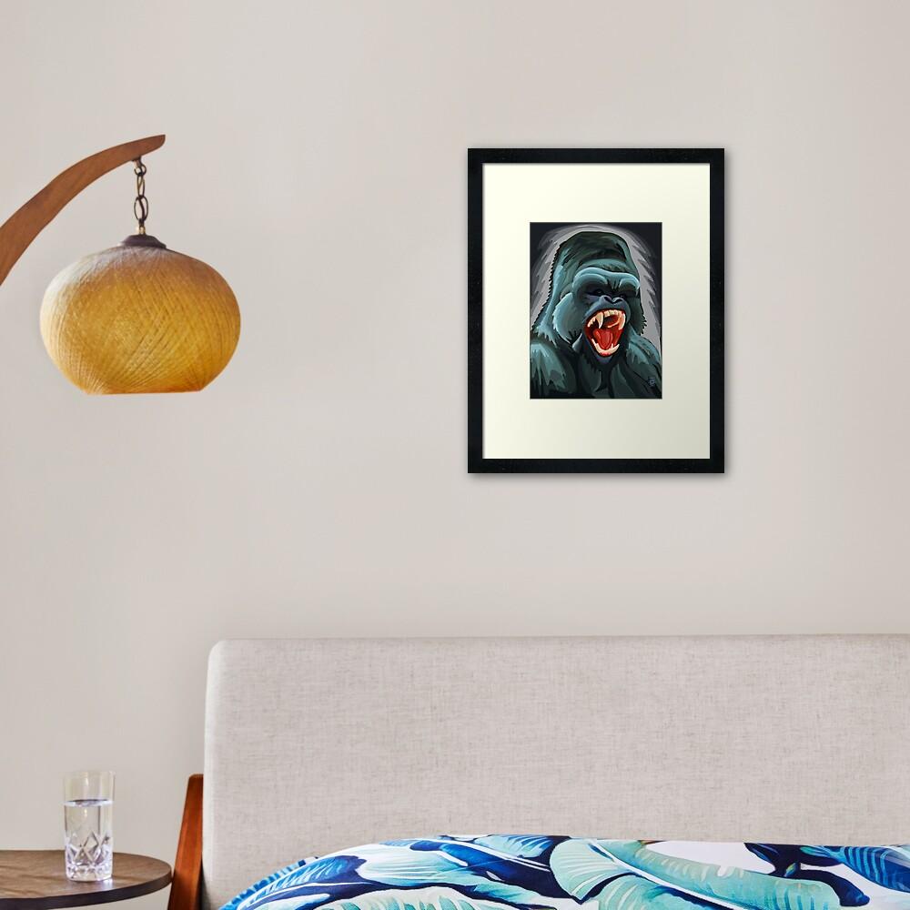 Silverback Framed Art Print