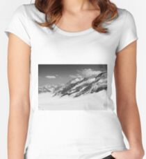 Top of Europe - Black Women's Fitted Scoop T-Shirt