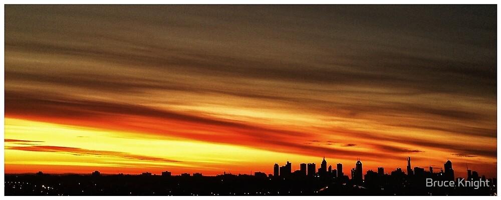 Melbourne Sunrise by Bruce Knight