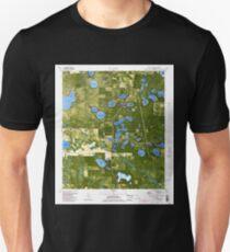 USGS TOPO Map Florida FL Crystal Lake 345707 1982 24000 Unisex T-Shirt
