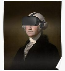 George Washington - Oculus Rift Poster