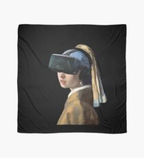 Girl With The Oculus Rift Scarf