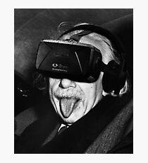 Albert Eintsein VR Photographic Print