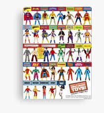 "MEGO - 8"" SUPER HEROES - WORLD'S GREATEST TOYS - #2 Canvas Print"
