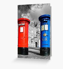 Snail Mail, Royal Windsor Greeting Card