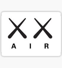 Kaws x Air Jordan Sticker