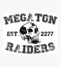 Megaton Raiders Photographic Print