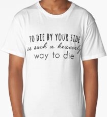 The Smiths - To die by your side Long T-Shirt