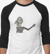 La Lloca Camiseta ¾ bicolor para hombre
