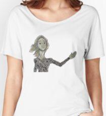 La Lloca Camiseta ancha para mujer
