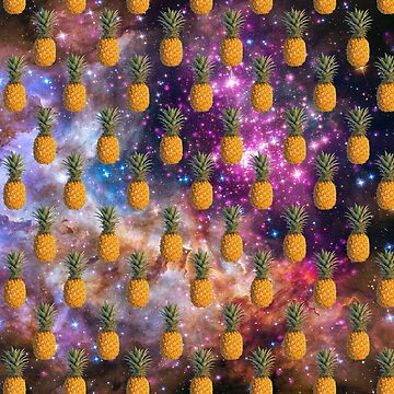 pineapple in space by RayaJK