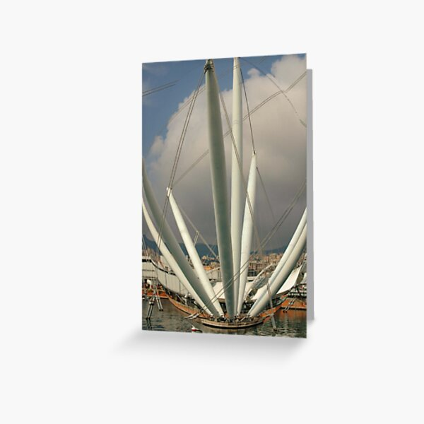 Welcome to Genova!!!! Greeting Card