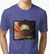 Anonymous Activist 2 Tri-blend T-Shirt