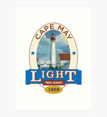 Cape May Lighthouse Art Print