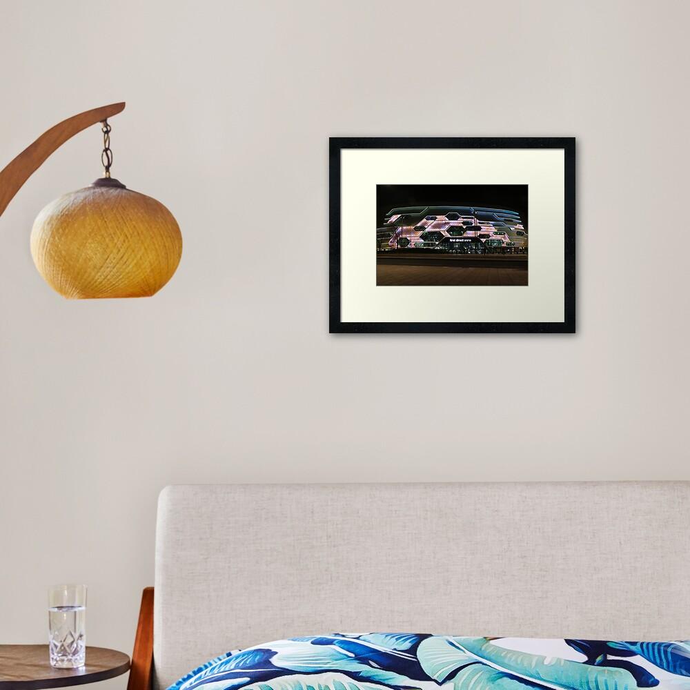 Leeds - First Direct Arena Framed Art Print