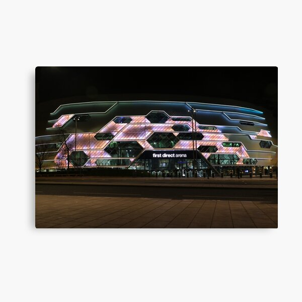 Leeds - First Direct Arena Canvas Print