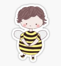 Sherlock Bee Sticker