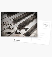 Music . . . Postcards