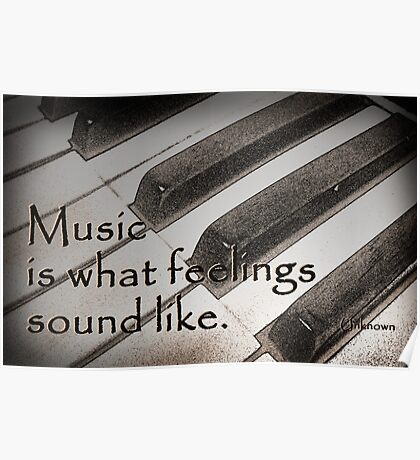 Music . . . Poster