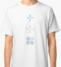 BTS - Logo Wings Holographic Classic T-Shirt