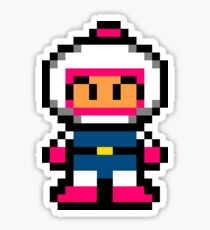 Pixel Art Bomberman Sticker