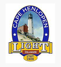 Cape Henlopen Lighthouse Photographic Print