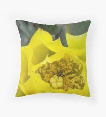 Hello - I'm Mr. Bee Throw Pillow