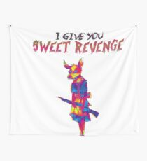 Here comes revenge  Wall Tapestry