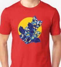 Pop foliage on Yellow T-Shirt