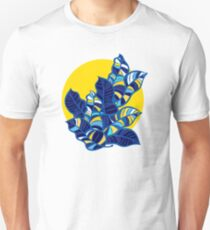 Pop foliage on Yellow Unisex T-Shirt