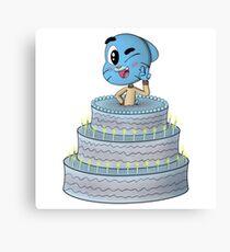 Cake Topper! Canvas Print