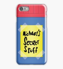Space Jam - Michael's Secret Stuff iPhone Case/Skin