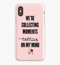 tattoos on my mind // rose collection iPhone Case